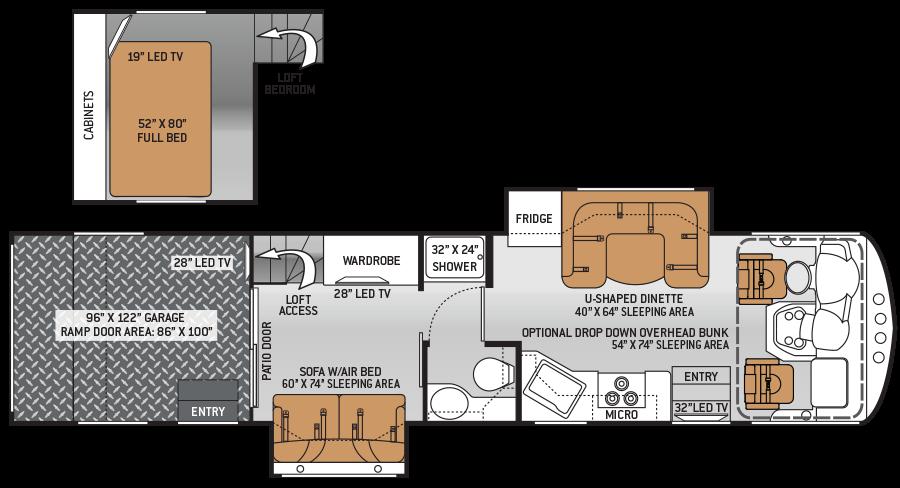 Thor Class A Rv Floor Plans Floor Plan Ideas