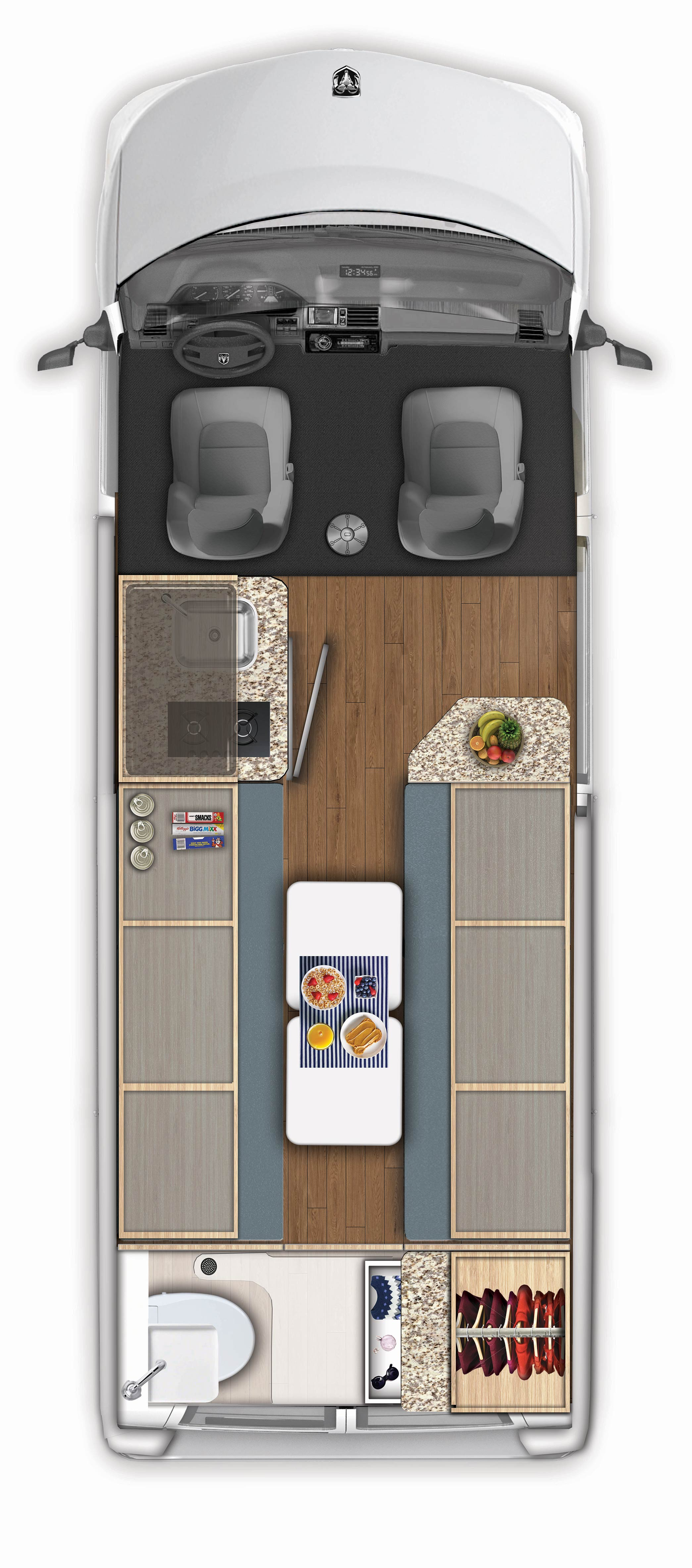 2018 Carado Banff Floor Plan