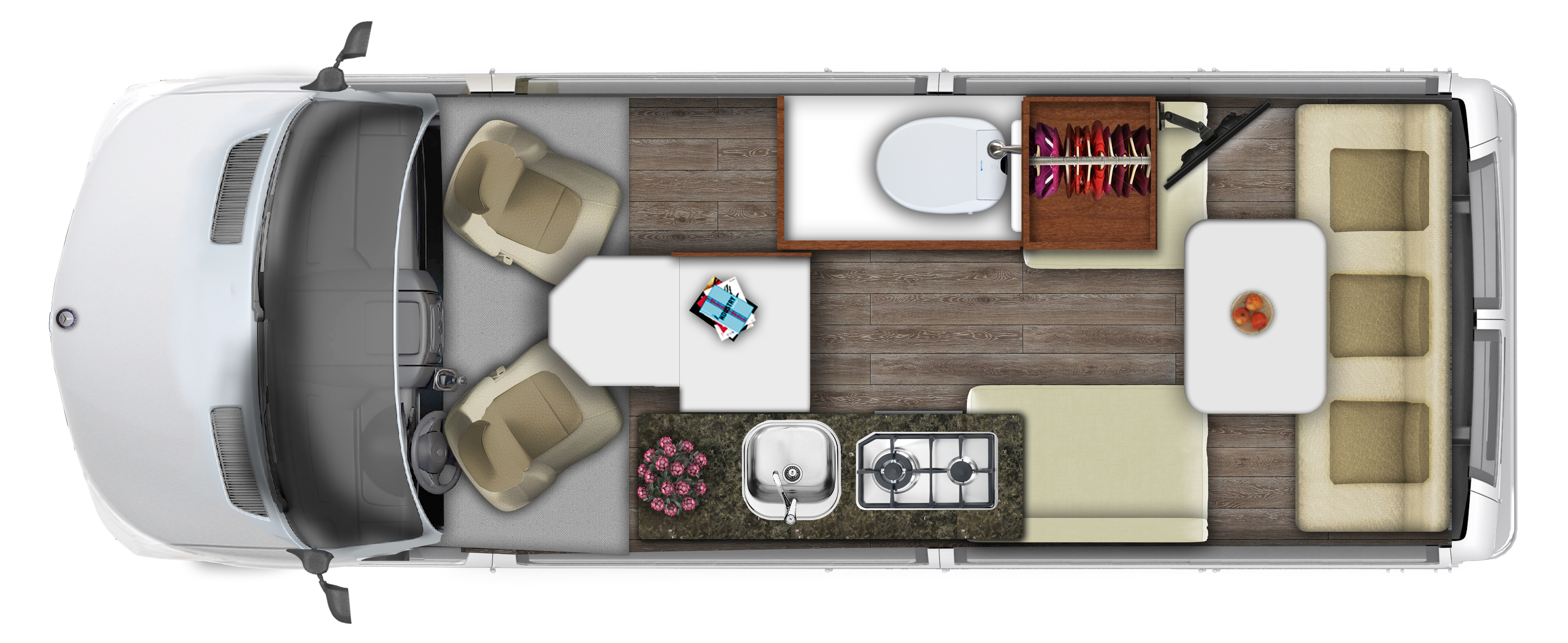 2019 ROADTREK SS AGILE 4X4 Floor Plan